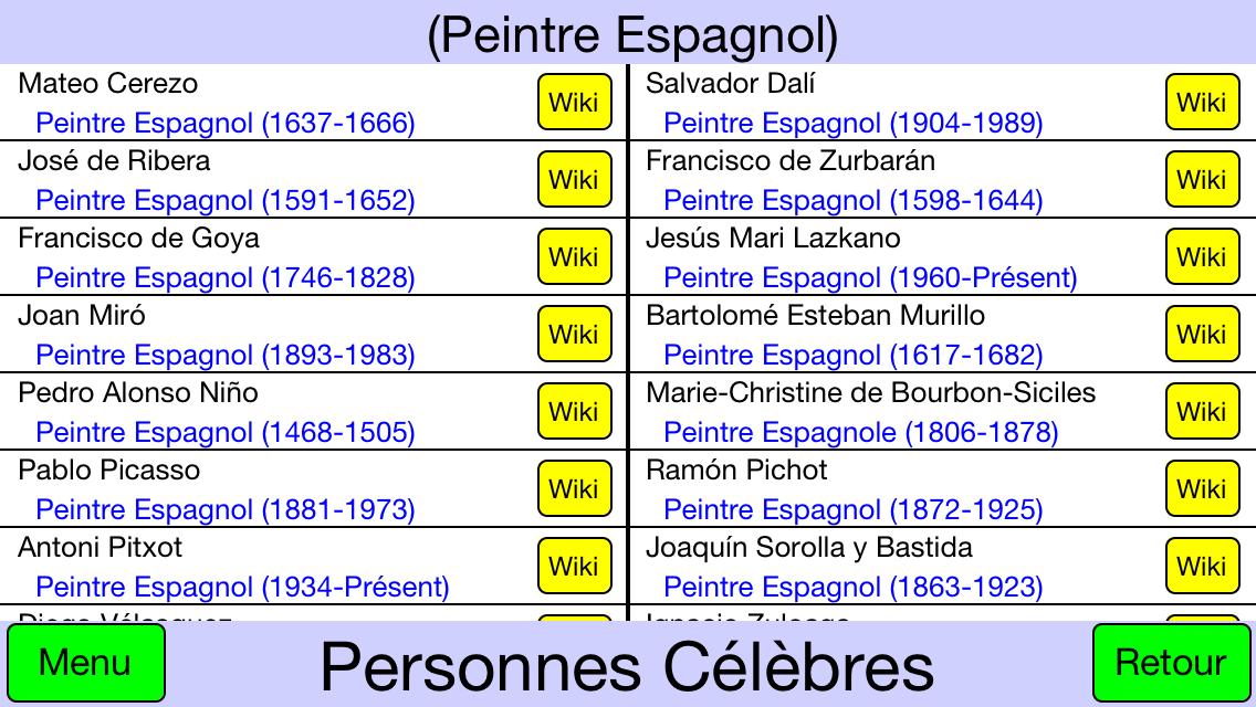 Liste des personnes célèbres